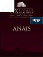 Anais. Xx Seminário de Estudos Clássicos-prazer e Moral No Mundo Antigo.