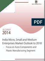 India MSME Enterprises Market Report to 2018
