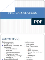 Lecture 11 - Fuel Calculation