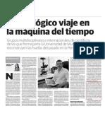 141011 La Verdad de Murcia- Un ecológico viaje en la máquina del tiempo