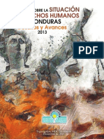 Informe sobre la Situacion de DDHH en Honduras - 2013.pdf
