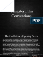 Gangster/Crime Film Conventions