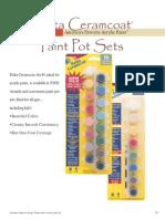 CMC Paintpotsets
