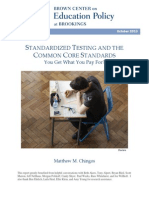 White Paper - Brookings - Standardized Testing and the Common Core Standards_FINAL_PRINT