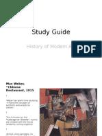 History of Modern Art Slides