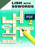 English With Crosswords 2 - Intermediate.pdf