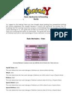 Pokémon (XY) Basic Mechanics and Breeding Guide