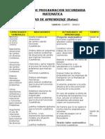 UNIDAD Y SESION DE APRENDIZAJE MATEMATICA-REMO SEC..doc