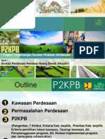 Program Pengembangan Kawasan Perdesaan Berkelanjutan (P2KPB)