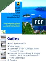 Kebijakan Penataan Ruang Perairan Laut berdasarkan UU Nomor 26 Tahun 2007