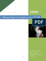 Measuring Corruption in LATAM