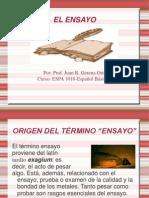 EL ENSAYO (ESPA 1010).ppt