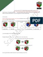 Tutorial F2L Rubik's cube