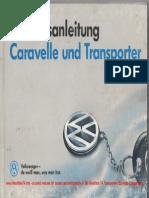 1991 VW T4 Owners Manual GermanWM