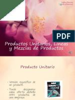 [MKT] Productos Unitarios, Lineas y Mezclas de Productos