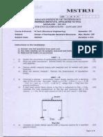 3 Rd Sem Design of Earth Quake Resistant Structures-Jan2010