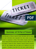 A Pair of Tickets Ppt