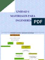 Unidad I - Materiales para ingeniería.ppt
