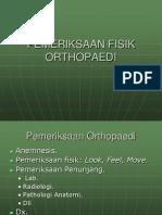 Pemeriksaan Fisik Orthopaedi