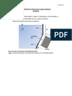 2.4 Pressure force on plane surface - problem.pdf
