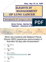 B_Enrico Cortesi_Management of malignant pleural effusions-1.ppt