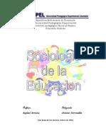 El curso de Sociología de la Educación está destinado a pro 1.docx