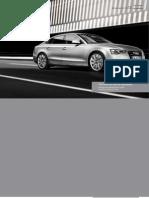 Audi A5 and S5 Sportback (UK)