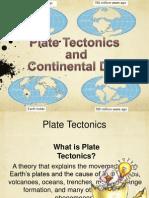 presentation plate tectonics and continental drift