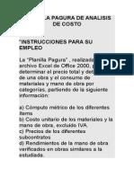 PLANILLA PAGURA DE ANALISIS DE COSTO.doc