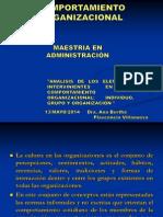 COMPORTAMIENTO ORGANIZACIONAL 13-05-2014.ppt