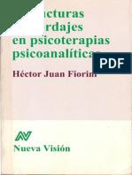 FIORINI Estructuras y Abordajes en Psicoterapia Psicoanalitica.pdf