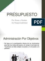 PRESUPUESTO POR AREAS Y NIVELES DE RESPONSABILIDAD EQUIPO 733.pptx
