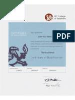bc teacher certification