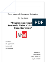 Final consumer Behaviour by ahmad