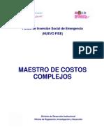 Guía de Costos Nº6 (19ABR2013)- Catàlogo de Costos Unitarios Complejos-1.pdf
