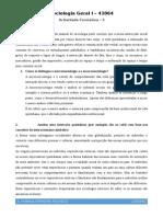 Após a leitura do capítulo 4 do manual de sociologia pode concluir que a nossa interecção social pode ser afectada e influenciada por vários factores tais como.odt