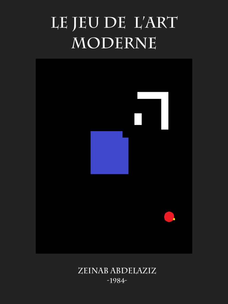 Le Jeu de L'Art Moderne   Zeinab Abdelaziz 12   Art abstrait ...