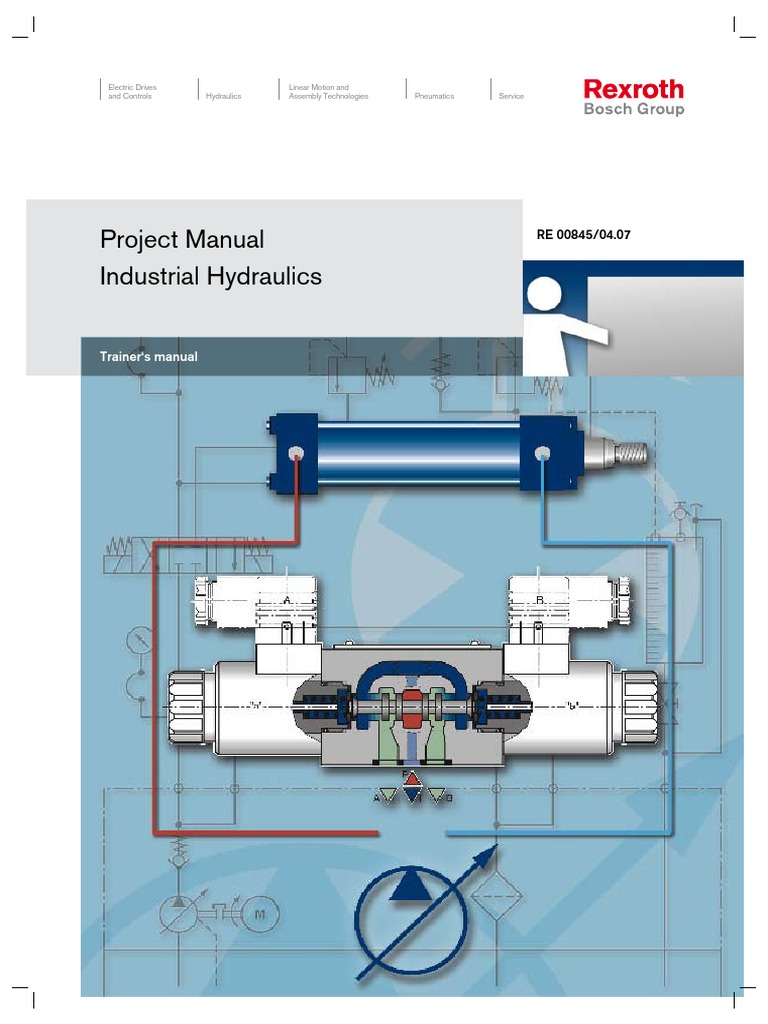 Industrial_Hydraulics_Trainer\'s_Project_Manual.pdf | Valve | Pump