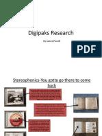 Digipaks Research