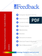 Feedback Communications Systems boards Student Manual
