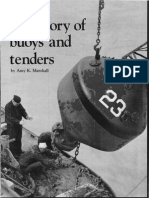 A History of Buoys and Tenders