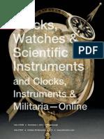 Clocks, Watches & Scientific Instruments | Skinner Auction 2760M