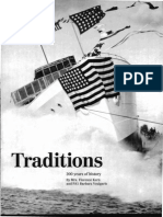 Traditions -200 Years of History