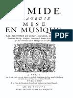 Armide (Opera Score) - Lully