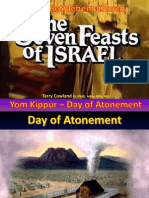 Feasts of the Lord Yom Kippur 2014