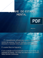EXAME  DO ESTADO MENTAL-2013.ppt