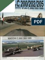 [Dai Nippon Books] - [Aero Detail 015] - Macchi c.200_202_205