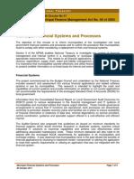 MFMA Circular No 57 - Municipal Financial Systems and Processes - 20 Oct 2011