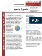 Jacobs Engineering Group Inc. Initiating Coverage Report