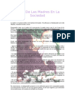 El Rol De Las Madres En La Sociedad.doc